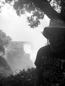 The falls have that cheesy grin effect