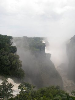 Come to Victoria Falls, down in Zimbabwe