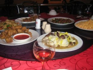 Dinner at one of my fave spots, Dongfang in Harare.