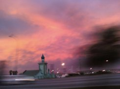 The sky is God's canvas & at sunset, He paints some of the most beautiful pictures.