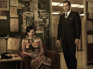 Peggy Olson & Don Draper