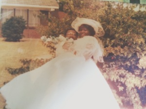 Mama & Papa Dubes on their wedding day